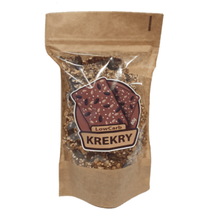 Krekry low carb s příchutí chilli 180g